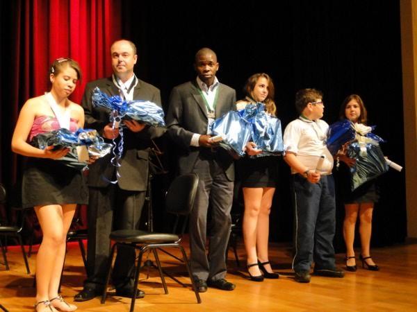 Os vencedores da edição de 2011 do Concurso (Foto: Evandro Carvalho/Arquivo Alca).