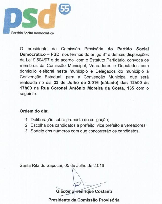 OFICIO PSD