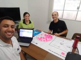 Agentes do ALI, Mateus Monteiro e Marcel Sales, em atendimento em Pouso Alegre.