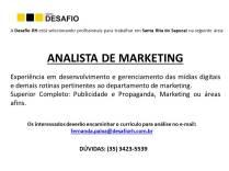 Divulgação vagas - Whatsup - ANALISTA DE MARKETING